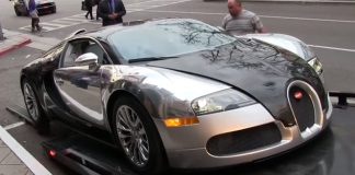 Video: Bugatti Veyron Almost Bottoms Out On Tow Truck