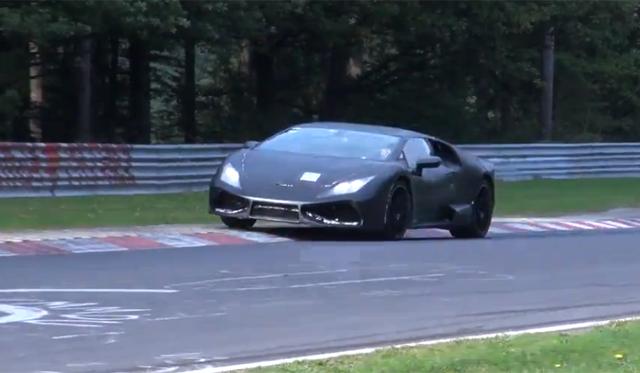2015 Lamborghini Cabrera Hits the 'Ring Again