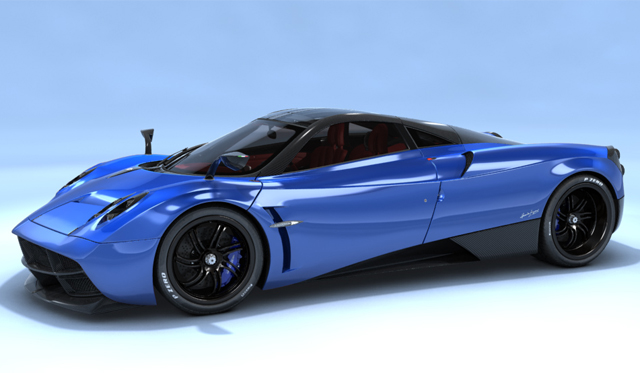Dedicated Fan Creates Pagani Huayra Configurator - GTspirit