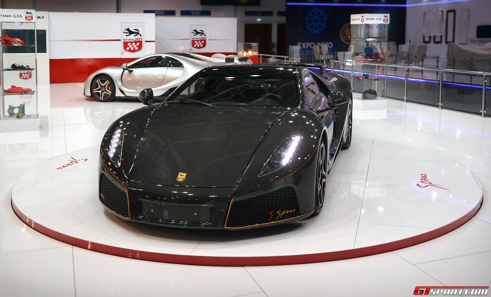 Dubai GTA Spano GTspirit - Car show dubai