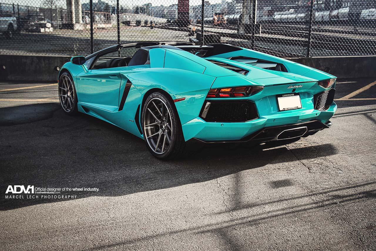 First Blu Glauco Lamborghini Aventador Roadster Adv 1 By Marcel