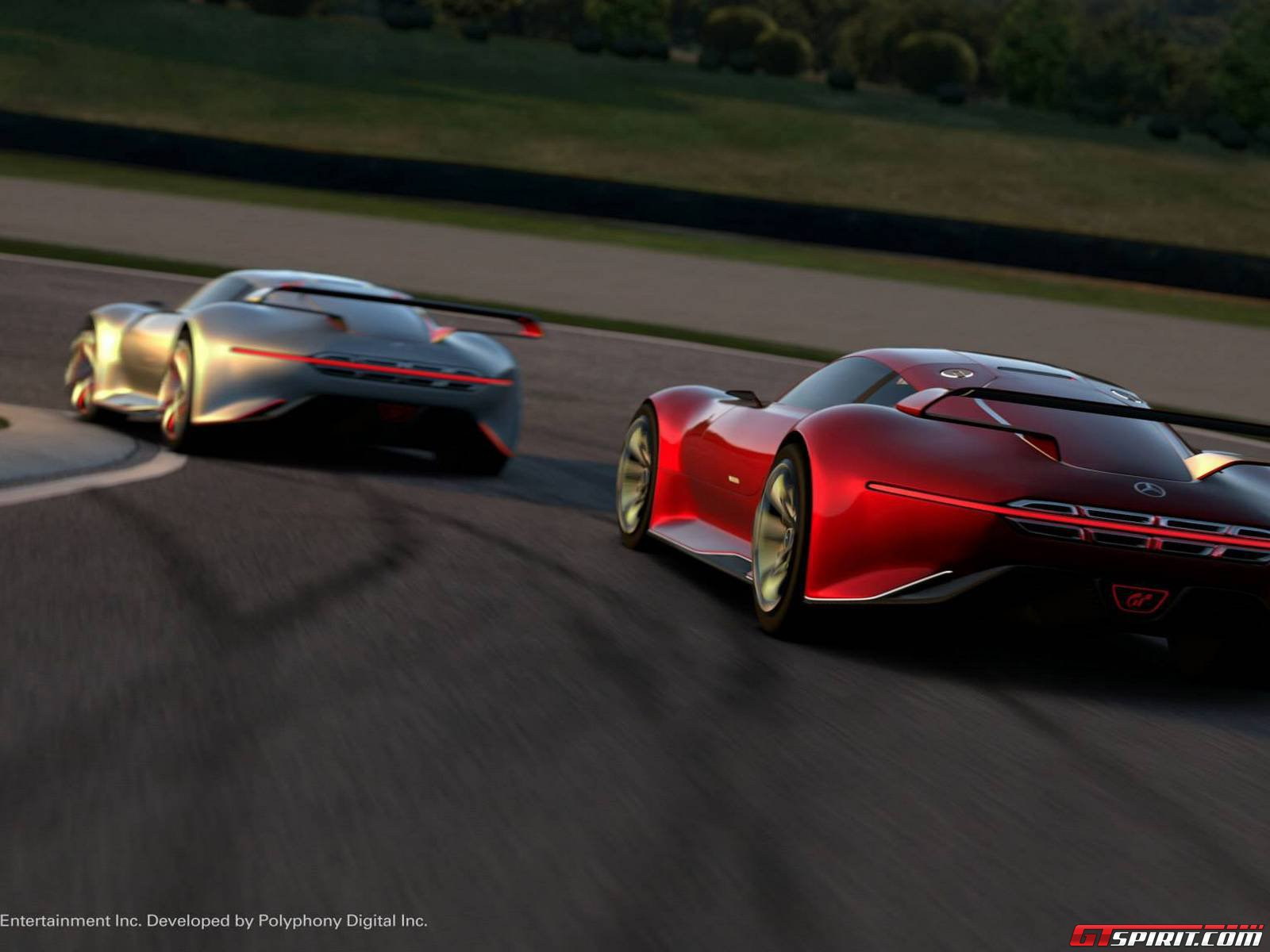 Mercedes benz amg vision gt in gran turismo 6 gtspirit for Mercedes benz amg vision