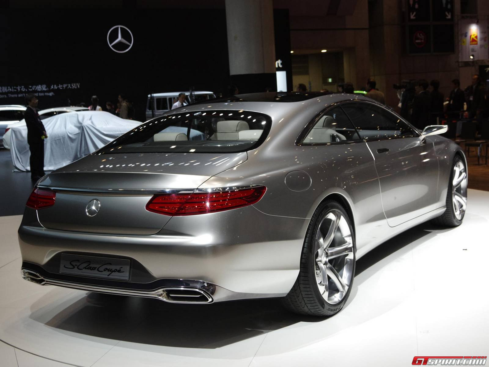 tokyo 2013 mercedes benz s class coupe concept gtspirit. Black Bedroom Furniture Sets. Home Design Ideas