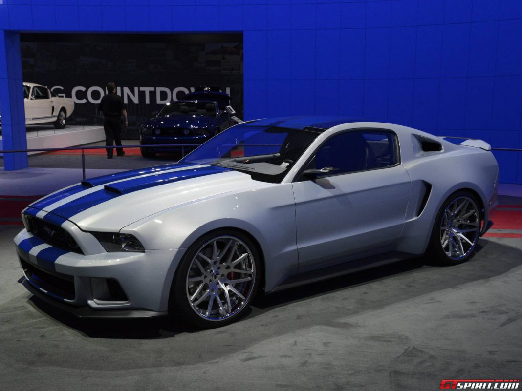 los angeles 2013 need for speed ford mustang gtspirit. Black Bedroom Furniture Sets. Home Design Ideas