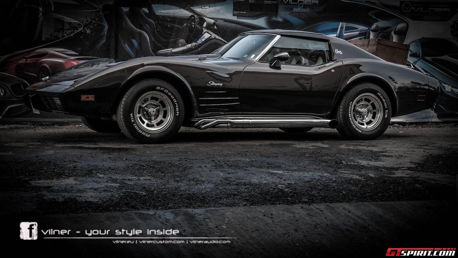 official 1976 chevrolet corvette stingray c3 by vilner. Black Bedroom Furniture Sets. Home Design Ideas