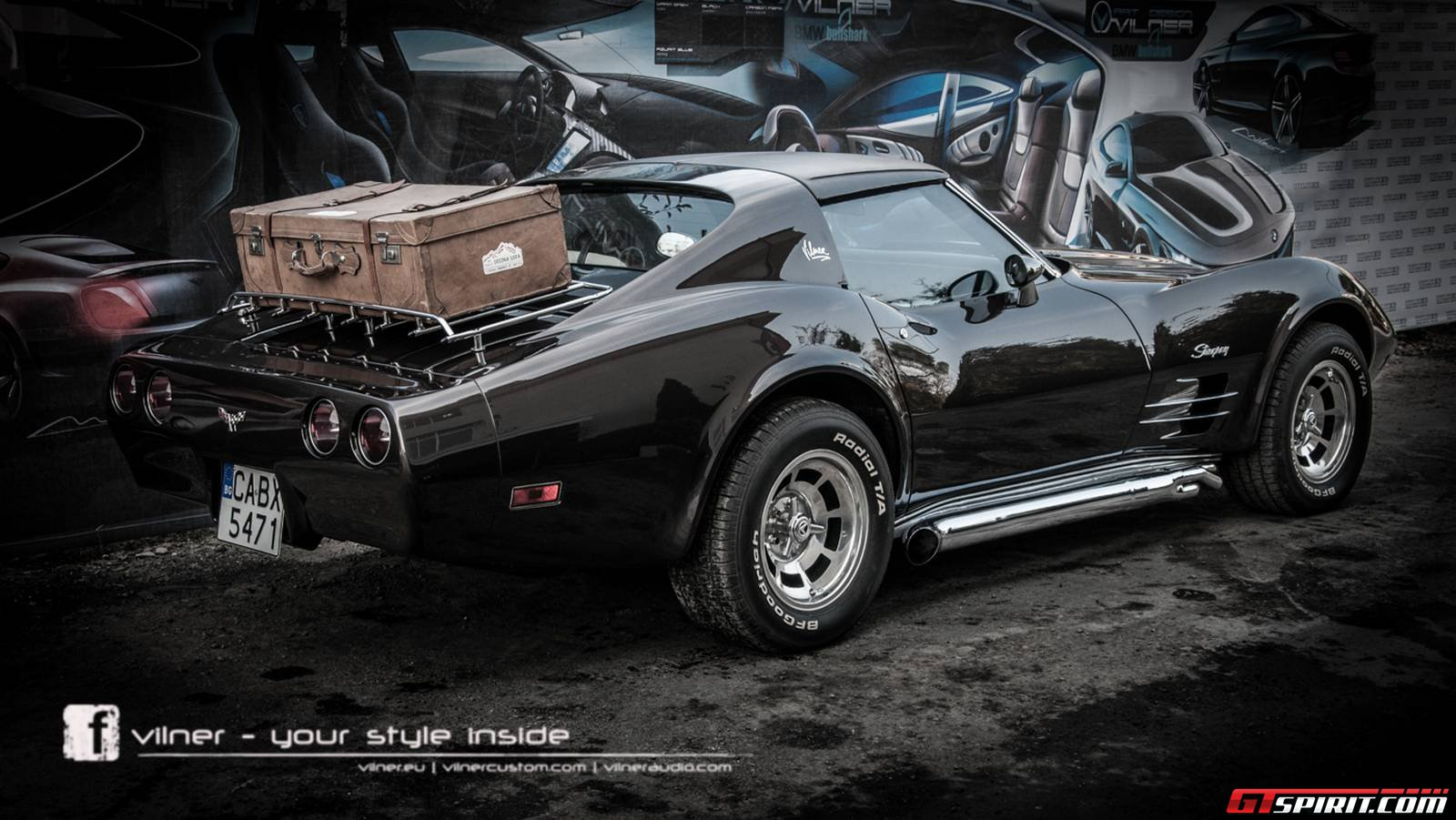 Official 1976 Chevrolet Corvette Stingray C3 By Vilner