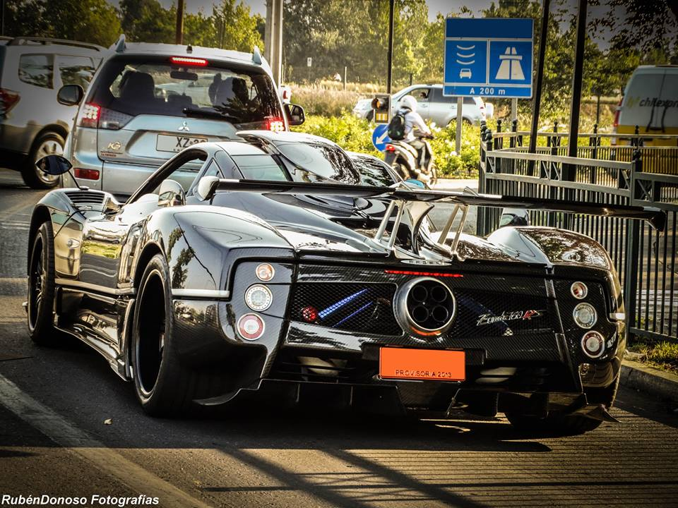 One-off Pagani Zonda 760RS Spotted in Chile - GTspirit