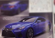 Is This the 2014 Lexus RC F Coupe?