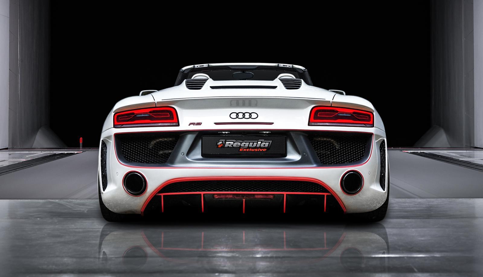Berühmt Official: Audi R8 V10 Spyder by REGULA Tuning - GTspirit #HE_18