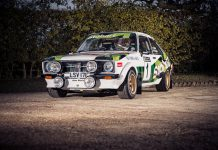 McRae's Ford Escort MK2 RS1800 Gp4 Historic Rally Car Being Sold
