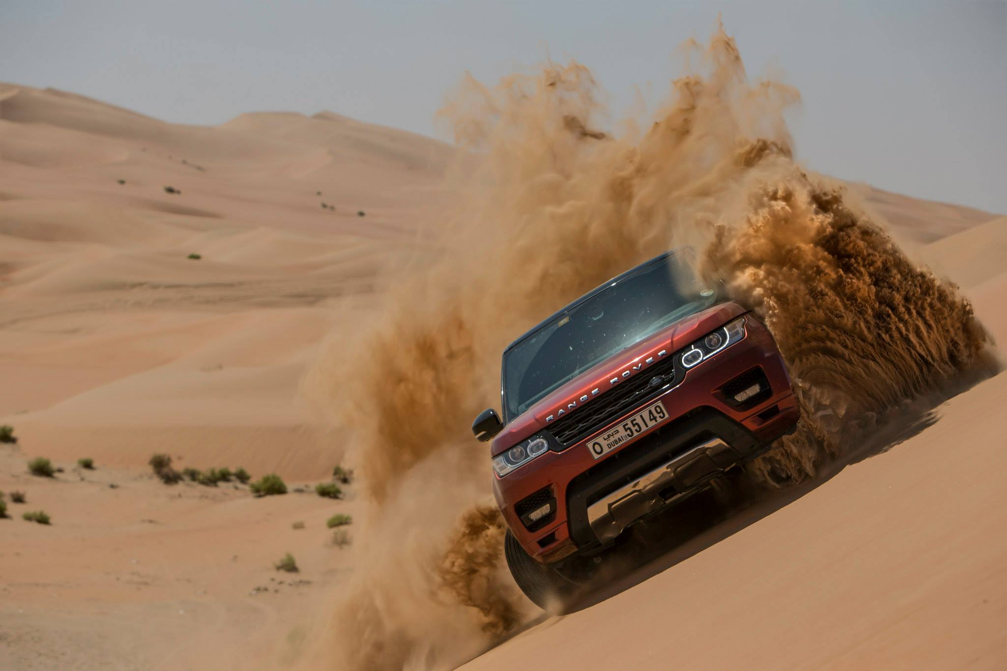 2013 Jeep Grand Cherokee For Sale >> Video: New Range Rover Sport Takes on the World's Largest Sand Desert! - GTspirit