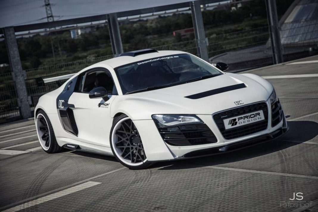 White Audi R8 PD GT850 by DCC