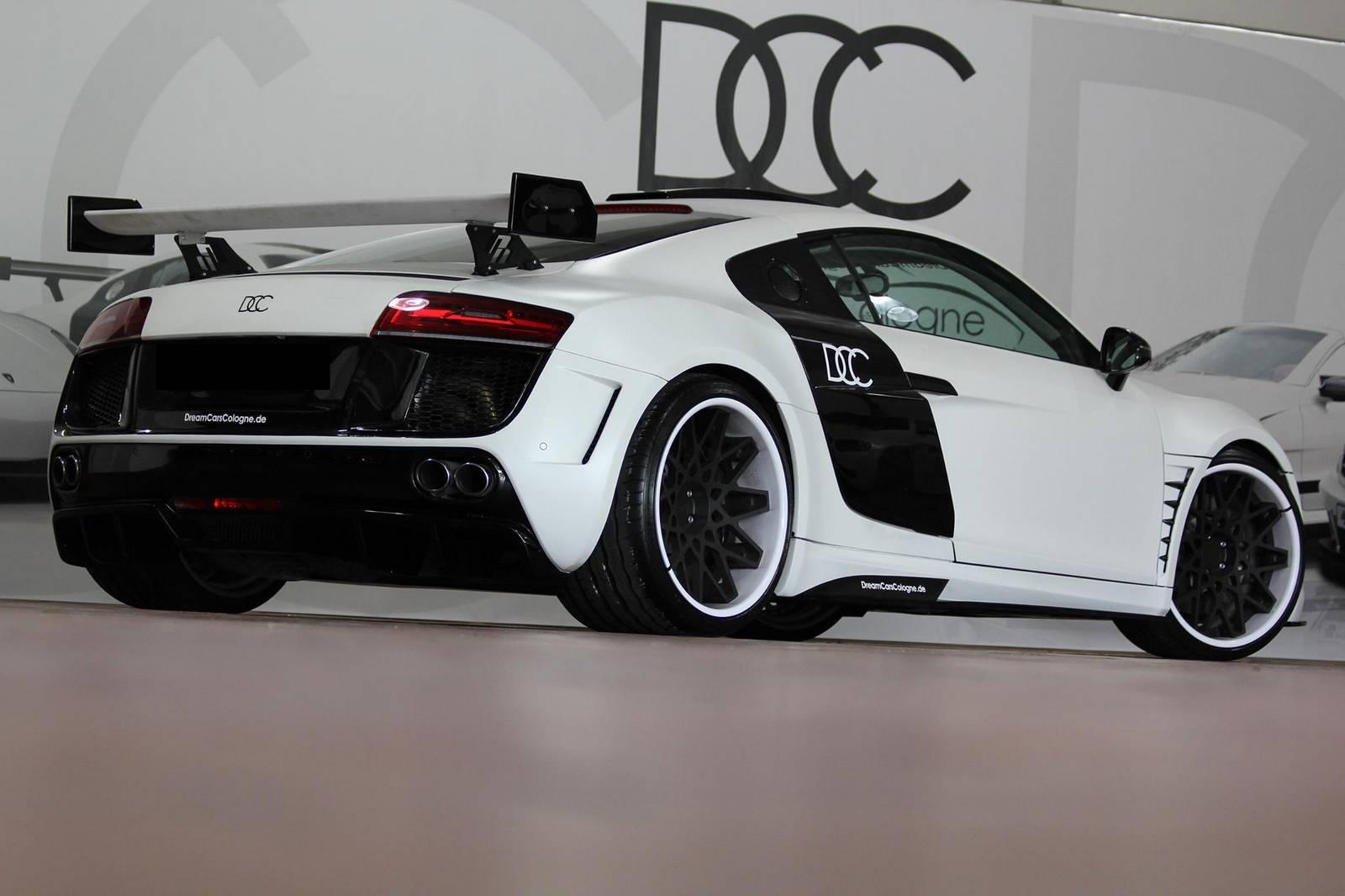 White Audi R PD GT By DCC GTspirit - White audi r8