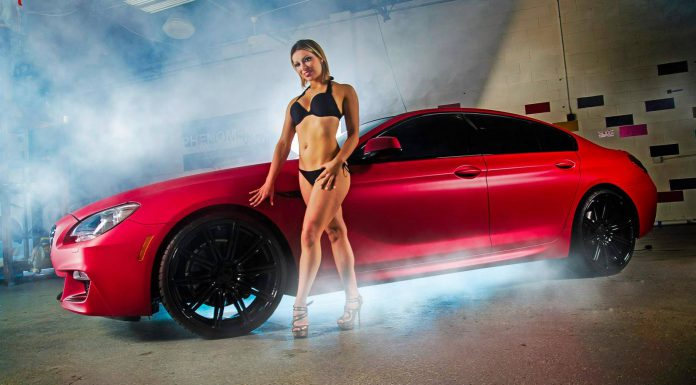 Matte Cherry Red Bmw 6 Series Sexy Models By Phenomenal