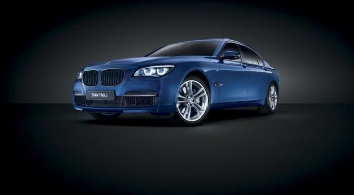Official: BMW 760Li Bi-Turbo Special Edition for Middle East
