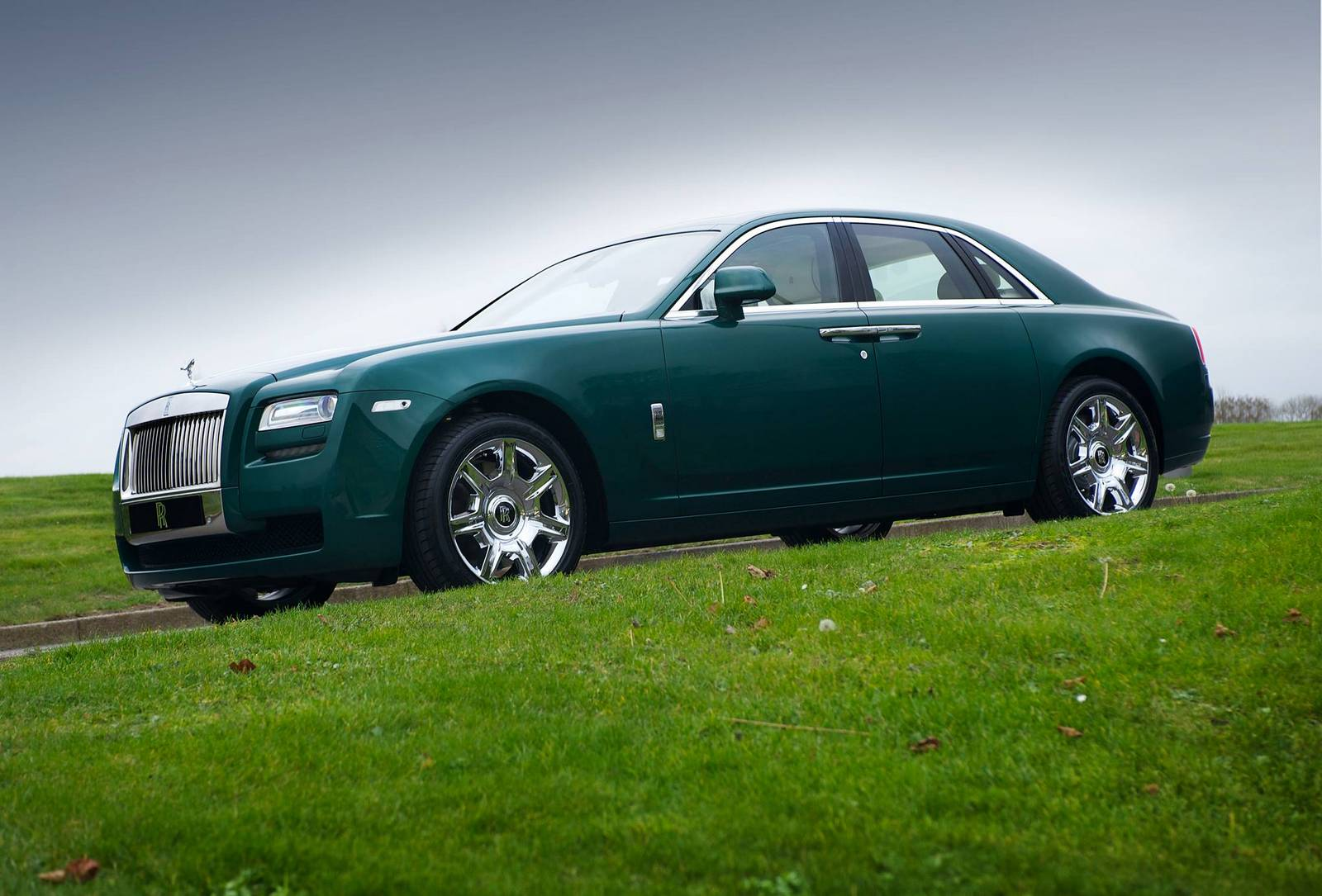 Photo Of The Day: Brooklands Green Rolls-Royce Ghost