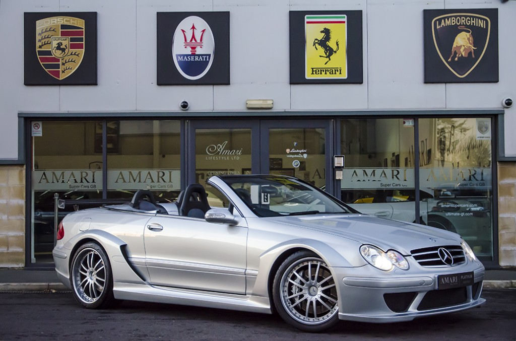 Rare 2007 mercedes benz clk dtm amg convertible for sale for Mercedes benz clk500 for sale