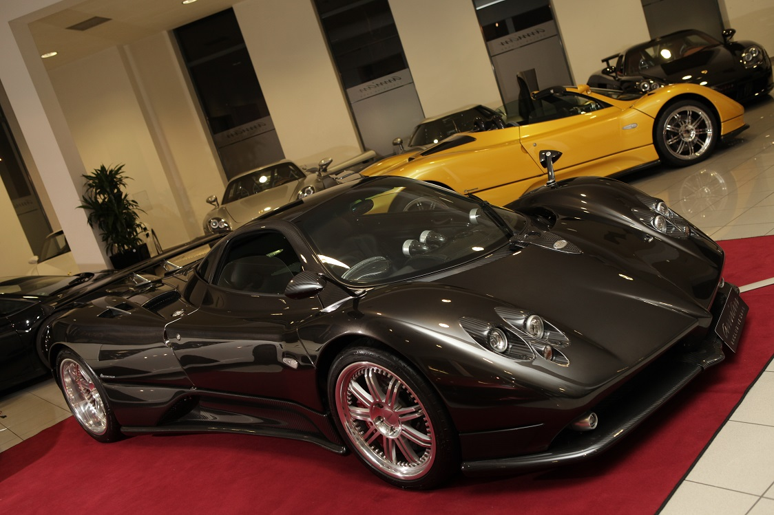 German Dealership Has Four Pagani Zondas For Sale - GTspirit