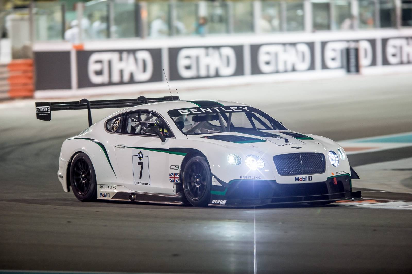 Bentley Continental GT3 Finishes Fourth at Gulf 12 Hours - GTspirit