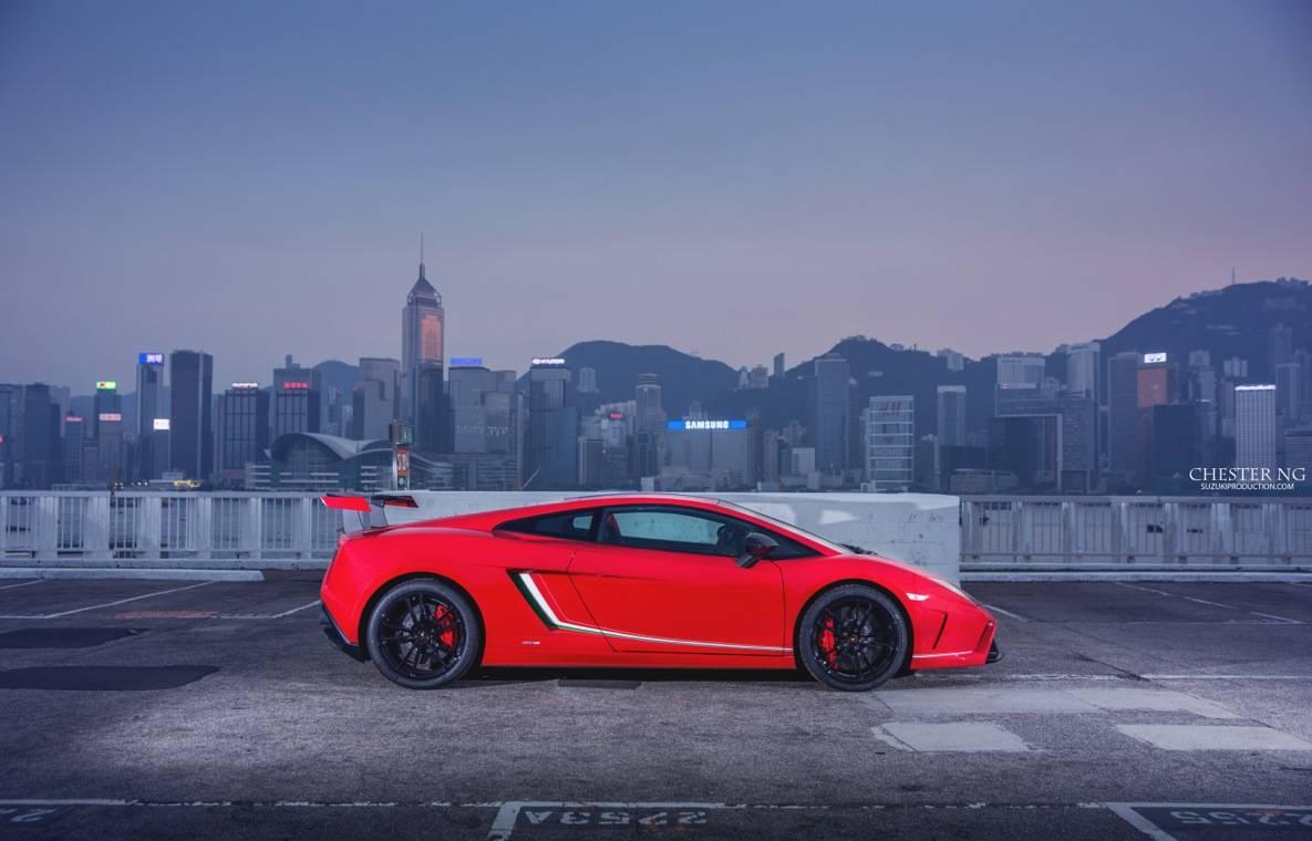 Red Lamborghini Gallardo Lp570 4 Squadra Corse In Hong Kong Gtspirit