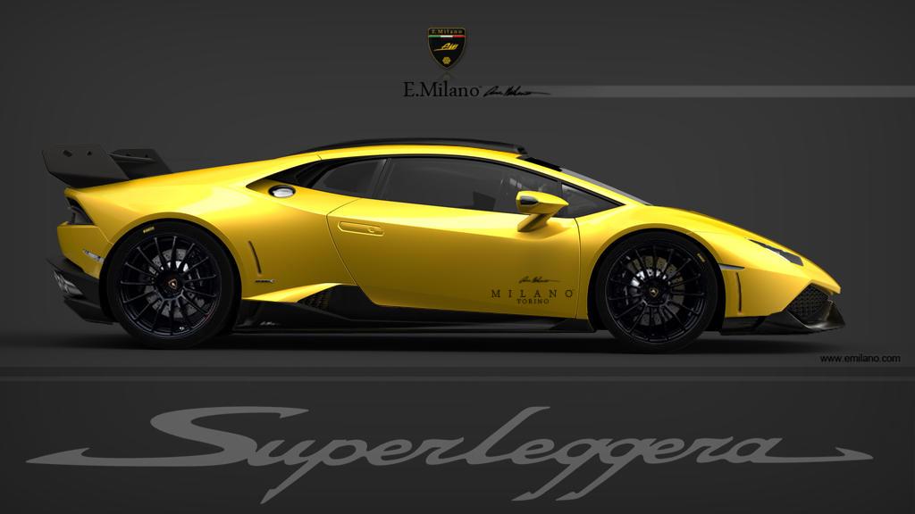 2014 Lamborghini Huracan LP 640 4 Superleggera By Evren Milano
