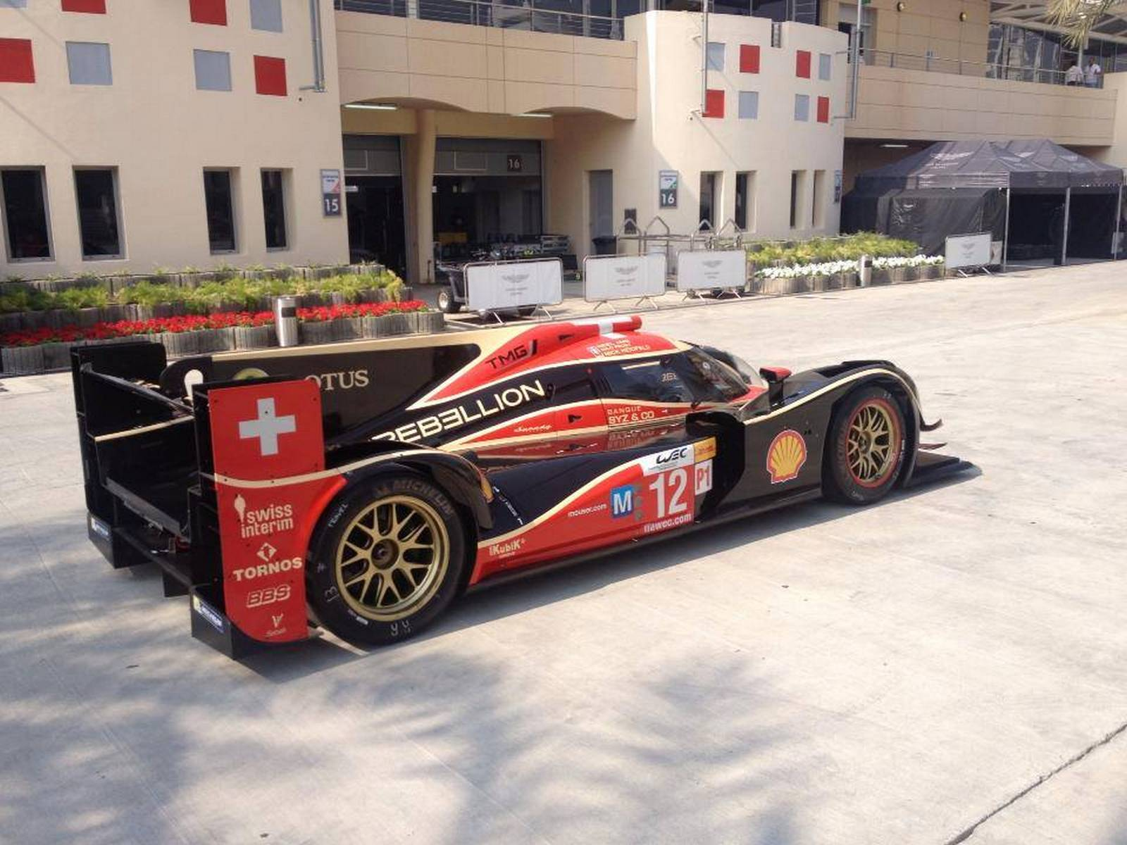 For Sale: Rebellion Racing Lola-Toyota LMP1 Racecar - GTspirit