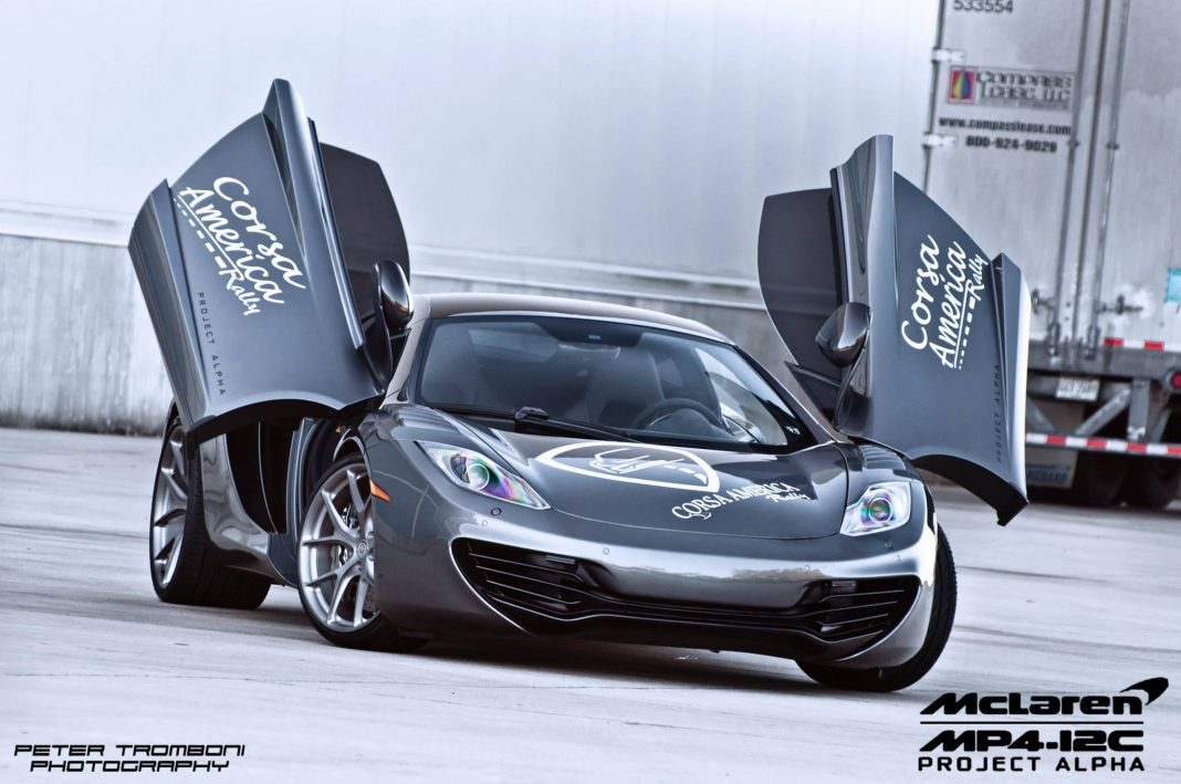 McLaren 12C Project Alpha Lowered on HRE Wheels