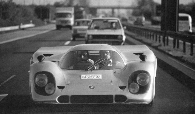 The Street Legal Porsche 917 Of Count Rossi