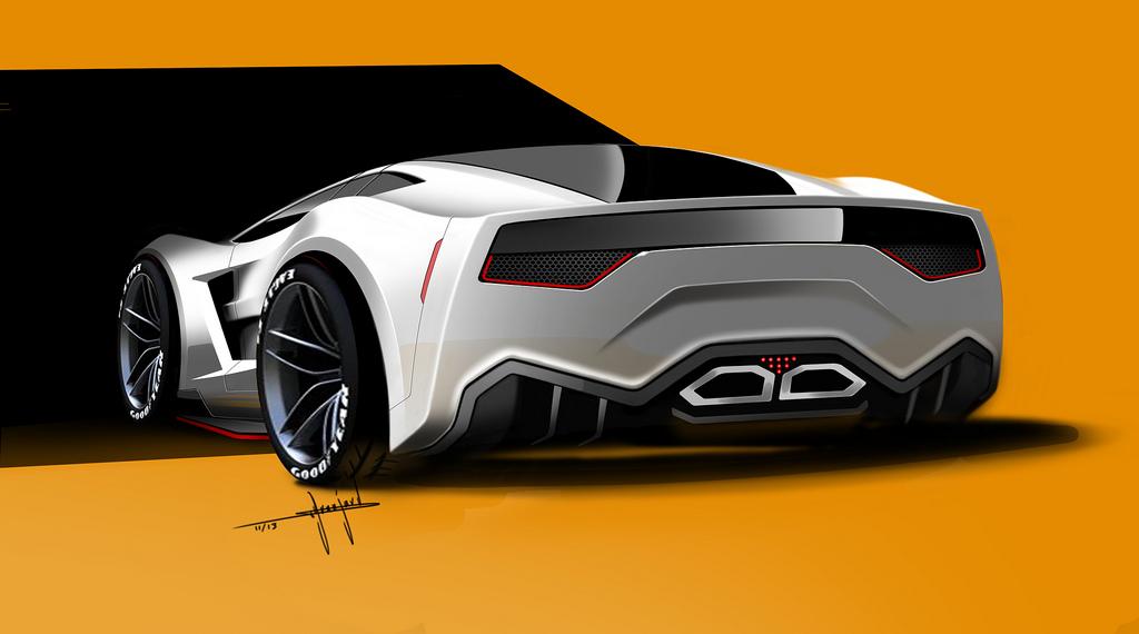 official supervettes sv8 r c7 aerodynamic kit for c6. Black Bedroom Furniture Sets. Home Design Ideas
