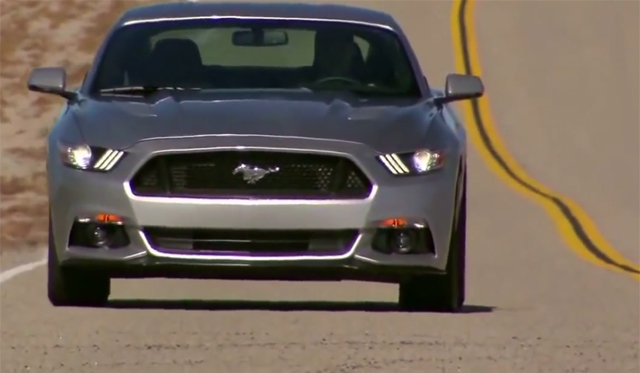 2015 Ford Mustang Hits Infamous Route 66