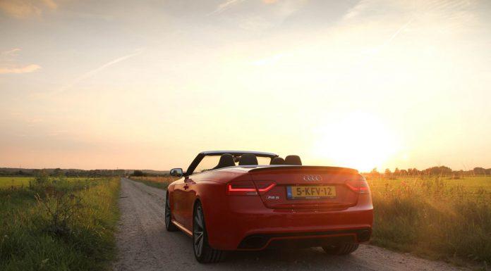Audi RS5 Cabriolet Sunset