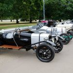 550+ Aston Martins Gather for The Aston Martin Centenary Celebrations in Kensington Gardens