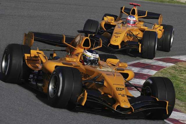 2014 mclaren f1 car could return to orange theme - gtspirit