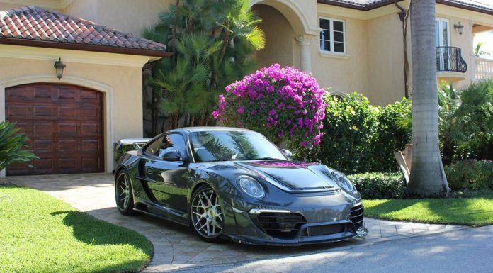 Porsche 911 Attack by Anibal Automotive Design
