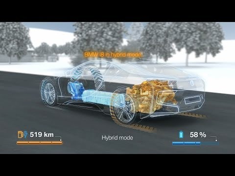 This Is How The Bmw I8 S Advanced Powertrain Works Gtspirit