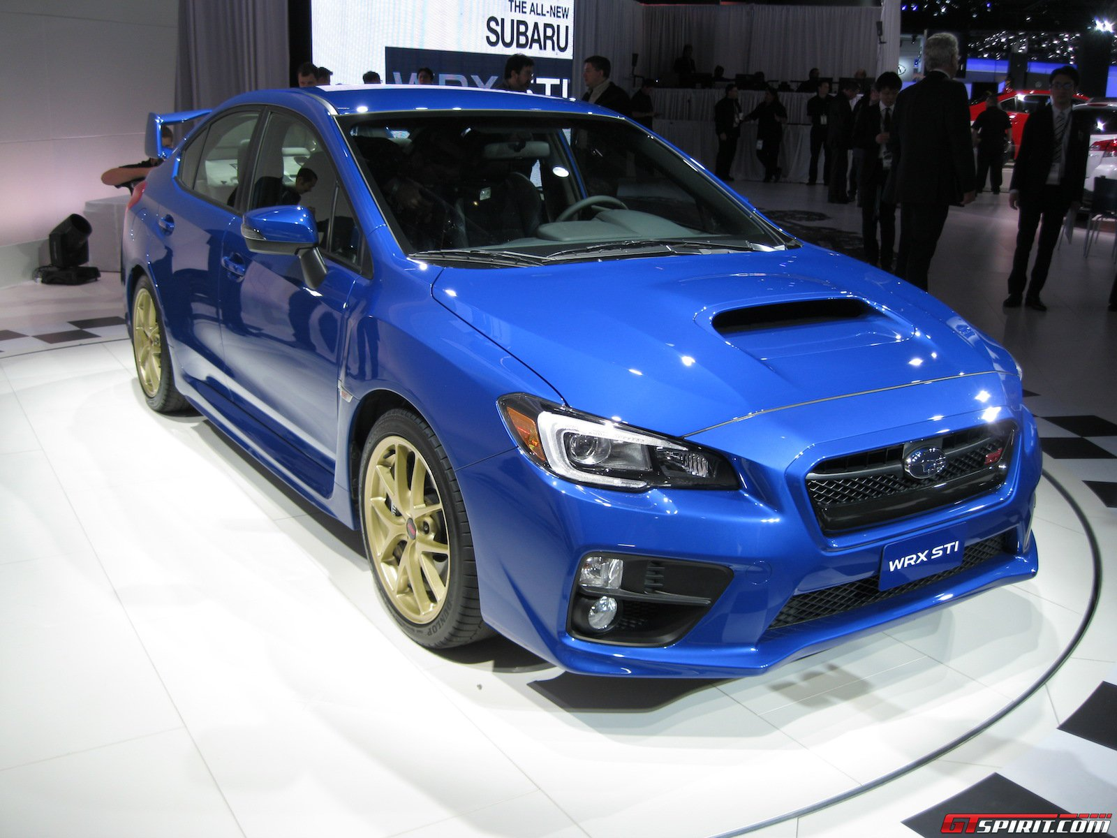 detroit 2014 subaru wrx sti gtspirit. Black Bedroom Furniture Sets. Home Design Ideas