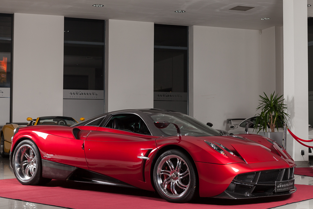 stunning red pagani huayra will set you back 2 6 million gtspirit. Black Bedroom Furniture Sets. Home Design Ideas