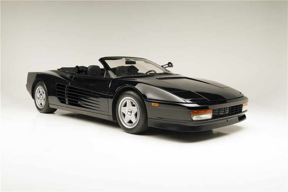 1986 ferrari testarossa convertible driven by michael jackson hitting auction block gtspirit. Black Bedroom Furniture Sets. Home Design Ideas