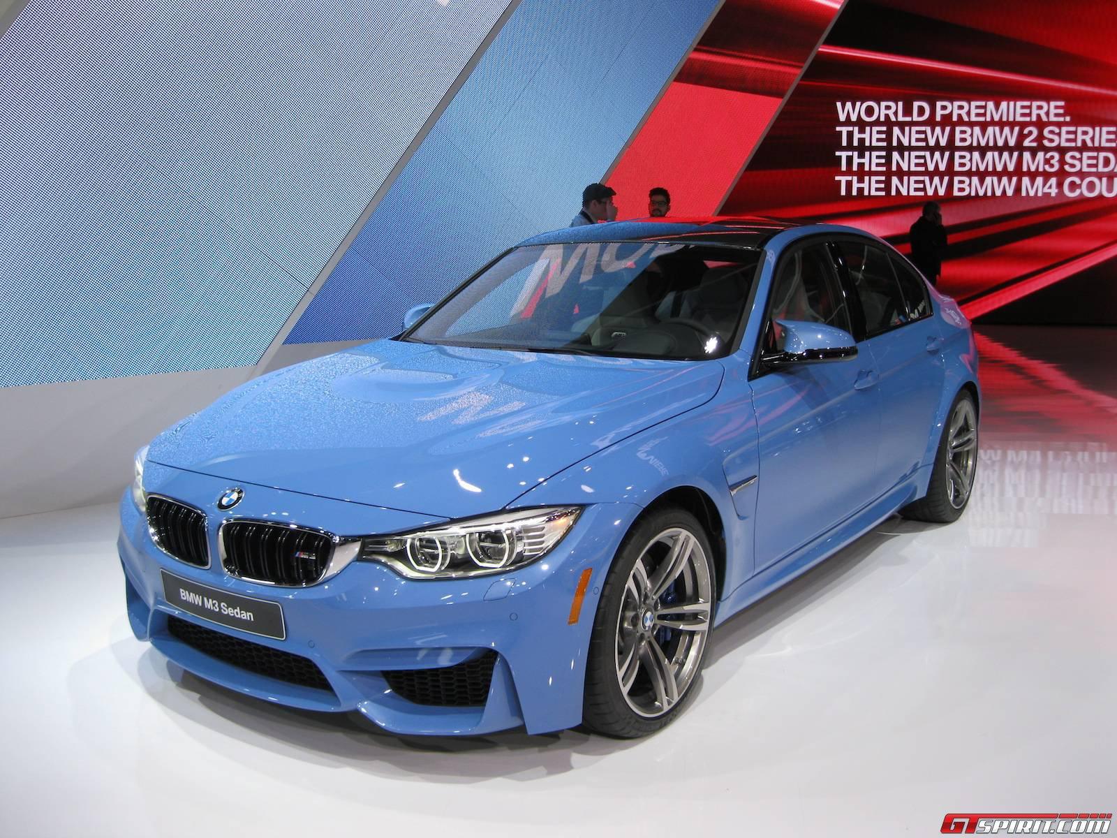 Detroit 2014: BMW M3 Sedan - GTspirit