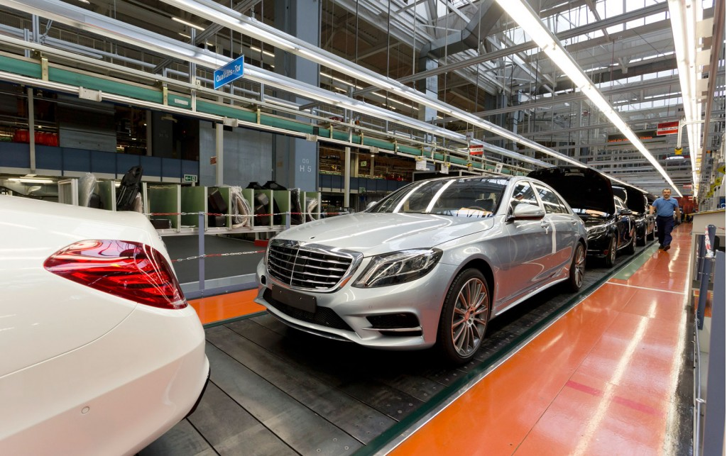 Mercedes benz produced million cars in 2013 gtspirit for How much is a 2014 mercedes benz s550