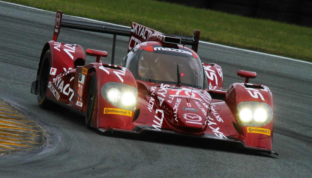 Mazda Previews its 2014 USCC Prototype Racer