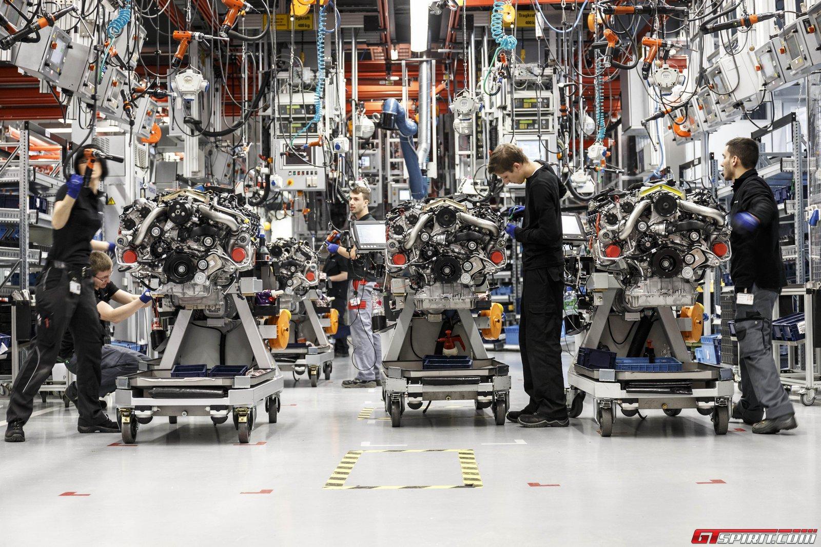 Factory Tour Mercedes Amg Affalterbach