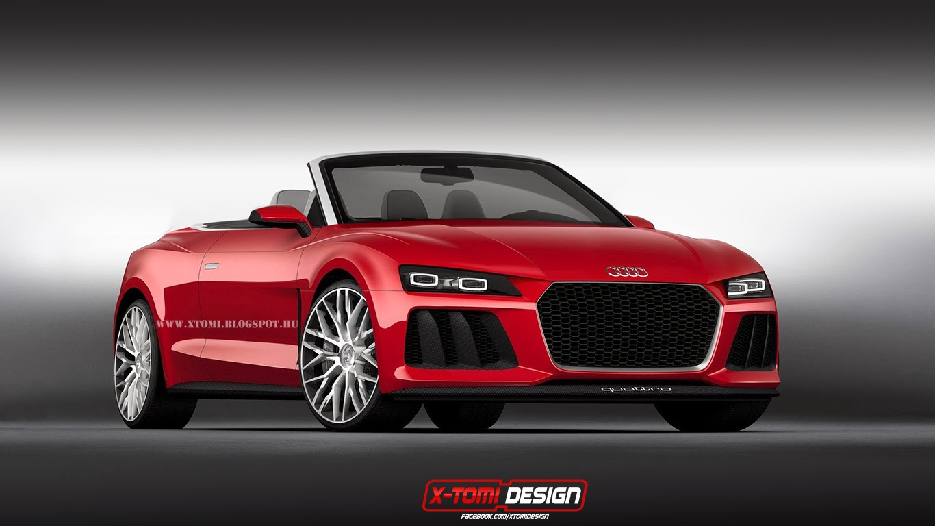 audi sport quattro laserlight concept cabriolet imagined gtspirit. Black Bedroom Furniture Sets. Home Design Ideas