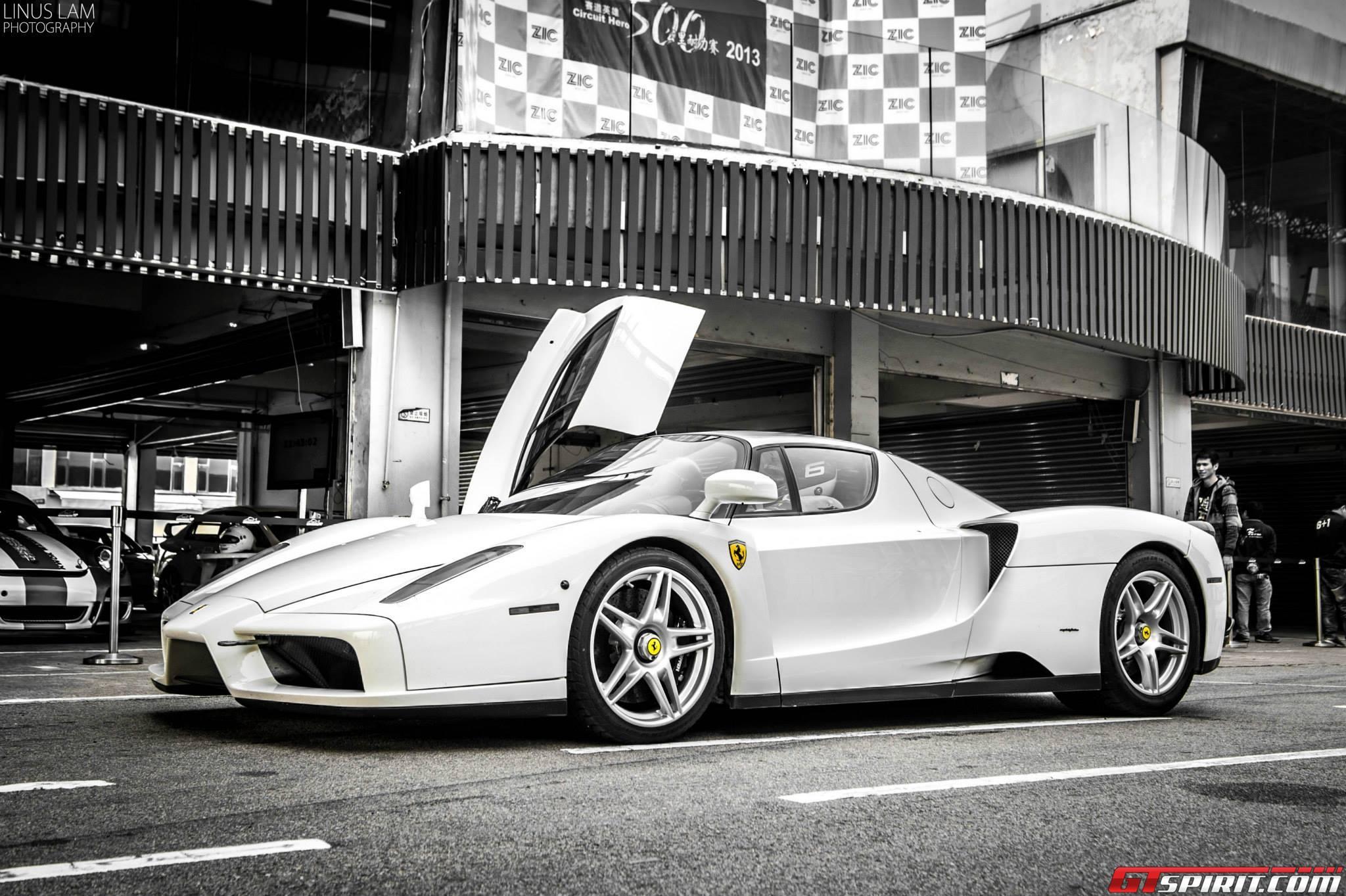 ferrari - Ferrari Enzo 2013 White