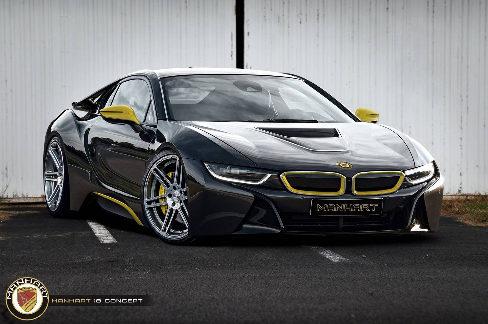 Manhart Racing Bmw I8 Concept Rendered Gtspirit