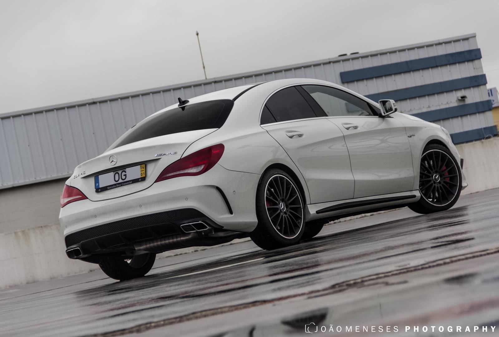2014 mercedes benz cla 45 amg photoshoot gtspirit. Black Bedroom Furniture Sets. Home Design Ideas