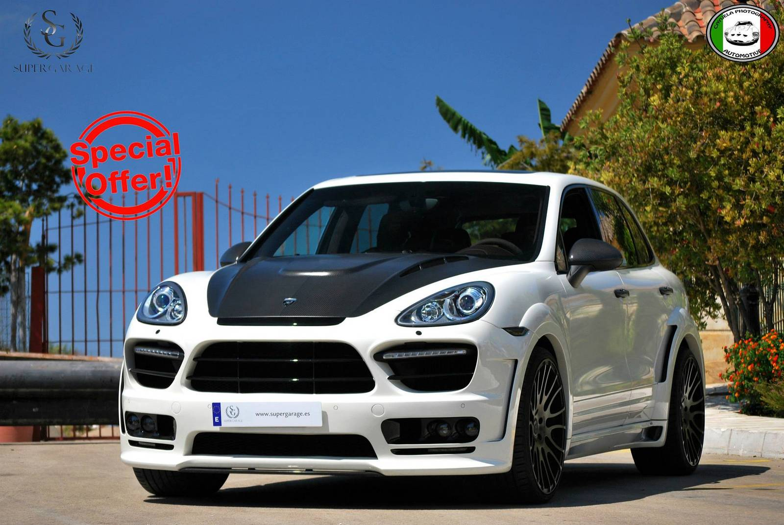 for sale porsche cayenne hamann guardian evo diesel at 175 000 euros gtspirit. Black Bedroom Furniture Sets. Home Design Ideas