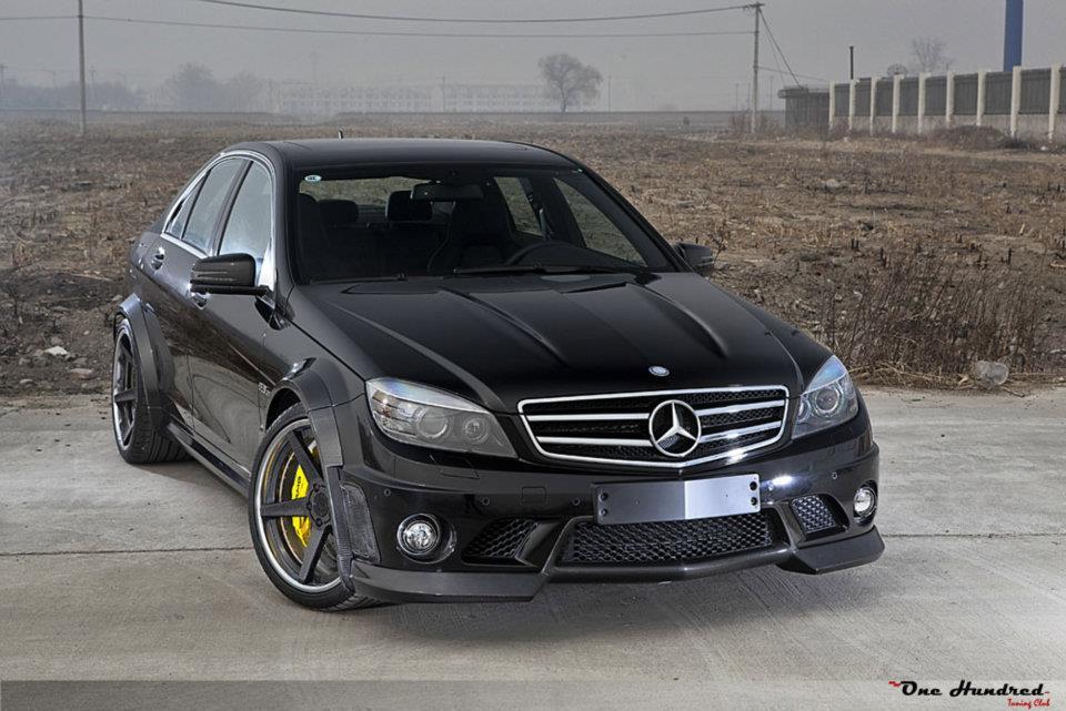 Renntech mercedes benz c 63 amg duo gtspirit for Mercedes benz g series price