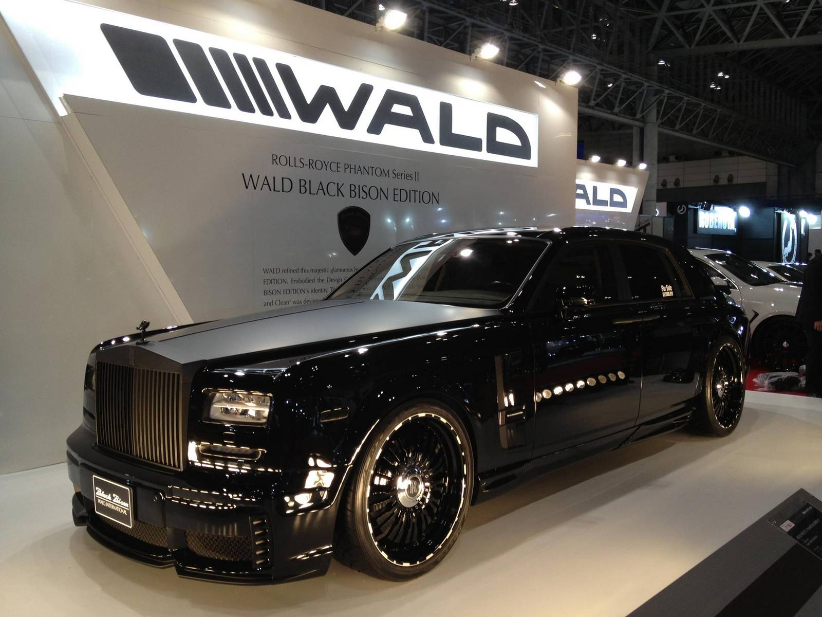 rolls royce phantom japan with Tokyo Auto Salon 2014 Wald International Cars on 177892254004964727 as well Limited Edition Bugatti Veyron Mansory Vivere also Beautiful Portraits Of Popular Tokyo additionally Chrysler 300S Phantom Black moreover 2018 2019 Mercedes Benz Cls Amg In The Image Of The Black Bison By Wald International.