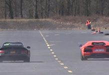 Heffner Dodge Viper vs Lamborghini Aventador and Nissan GT-R